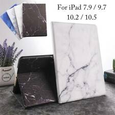 Magnetic Marble Pattern Case Cover For iPad 5 6th 7th Gen Air Mini Pro 9.7 10.5