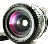 """""""Excellent+++"""" Nikon Ai-S Nikkor 28mm f/2.8 Wide Angle MF Lens from Japan"""