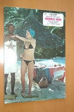 SEXY KARINE SCHUBERT BLACK EMMANUELLE 1975 VINTAGE LOBBY CARD #7