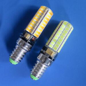 E14 LED bulb 5W 72LED 5730 SMD White/Warm DC12~24V E14S Silicone Equivalent 50W