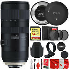 Tamron SP 70-200mm F/2.8 Di VC USD G2 Bundle with Tap in Console for Nikon