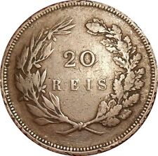 Portugal 20 Reis 1892 KM#533 Carlos I (2836)
