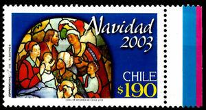 CHILE, CHRISTMAS 2003, MNH, YEAR 2003