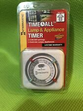Intermatic TN111CL Time All Lamp & Appliance Timer With 2 On/Off Settings NEW