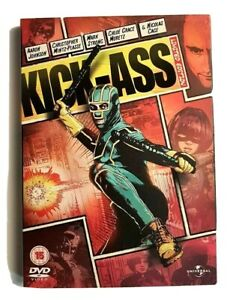 Kick Ass 2012 Region 2 DVD Limited Edition Nicolas Cage & Mark Strong Universal