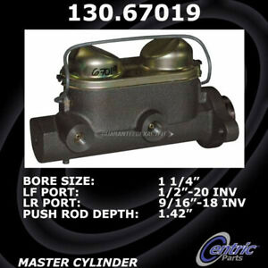 For Dodge W300 Series Centric Brake Master Cylinder DAC