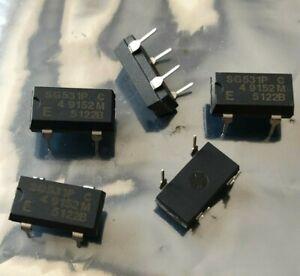 SG-531P XTAL OSCILLATOR  XO 4.9152MHZ  CMOS   5 PIECES   HU1248