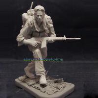 2Heads 1:16 120MM Scout Figure Model Unpainted Resin Soldier Garage Kits Statue