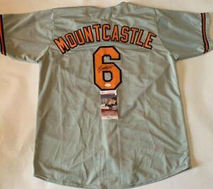 Ryan Mountcastle Autographed Orioles Style Grey Jersey JSA Witnessed COA