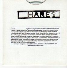 (BI719) Hares, Pink Radio - 2010 DJ CD