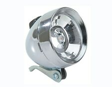NEW BICYCLE VINTAGE BULLET HEADLIGHT CHROME 1 LIGHT CRUISER CYCLING