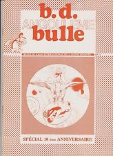 BD BULLE n°11. 10 ans d'Angoulême, Eisner. Etat neuf