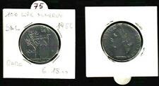 MONETA REPUBBLICA ITALIANA  LIRE 100 ANNO 1956 - SPL   RARA -   N.75