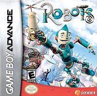 Robots (Nintendo Game Boy Advance, 2005)