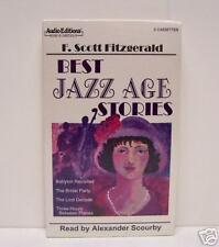 JAZZ AGE STORIES,  SCOTT FITZGERALD,  AUDIOBOOK, CASSETTES,  BRAND NEW