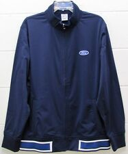 Men's Ford RS Journeyman Track Jacket Focus Zipper Navy by Level Wear Large New