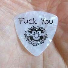 """Animal Drummer Muppet - """"FU"""" Guitar Pick"""