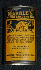 Vintage Marbles Nitro Solvent Oil Tin Excellent condition No spout
