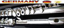 Flute Flute Yama 371 Silver Flute Open Holes Yama Flute Plata Abie