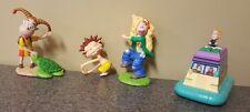 4 Wild Thornberrys Figurines Toys Nickelodeon Vintage 1999 Eliza Debbie Donnie