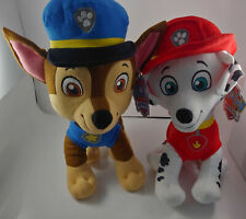 Set Of 2 Nickelodeon Paw Patrol Cuddle Pillows Marshall Chase