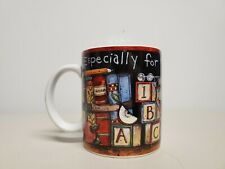 "Specially For My Teacher Coffee Cup by Susan Wagner 4"" tall."