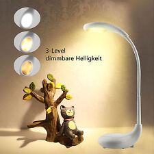 LED Tischlampe Schreibtischlampe Nachttischleuchte Kinder Leuchte Rechargeable