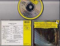 DEUTSCHE GRAMMOPHON Faure Pelleas Et Melisande SEIJI OZAWA CD W GERMANY PDO SILV