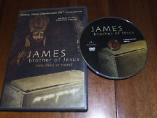 James, Brother of Jesus DVD riveting history channel meets CSI holy relic hoax?