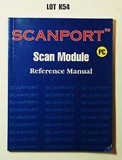 Scanport Scan Module Reference Manual PC SCANPAQ 1997 LOT K54