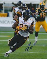 C.J Gable Hamilton Tiger-Cats CFL autographed signed 8x10 Photograph w/COA
