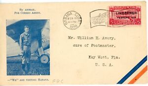 INDEPENDENT NATION OF THE CARIBBEAN--1st Flight Cover to Key West 1928