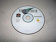 FINAL FANTASY VII DISC 2 OF 3 SONY PLAYSTATION 1 PS1 SQUARESOFT PAL