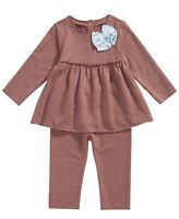 First Impressions Floral-Print Top /& Leggings Baby Girls/' 2-Piece Set 72276ME410