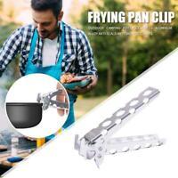 Camping Hiking Anti-hot Anti-Scald Pot Pan Bowl Gripper Handle Holder Clip Clamp