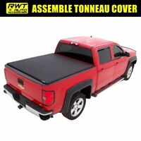 Fit 2015-2021 Ford F-150 6.5 FT Bed Lock Tri-Fold Soft Assemble Tonneau Cover