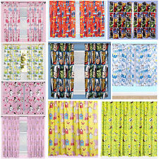 Boy Girl TV Character & Disney Curtain Pair 54 & 72 Inch Brand New