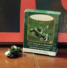 2000 Hallmark 1935 Steelcraft Mini by Murray Kiddie Car Luxury #3rd Series