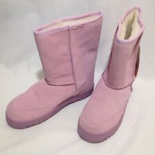 Australian Boots Pink by Australian Boot Company Cow Suede Sheep Fur W8 M7