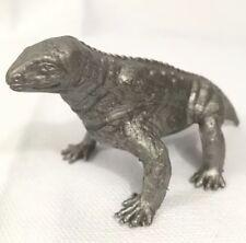 Vintage MPC MOSCHOPS silver Plastic Dinosaur Prehistoric playset mammals 1960s