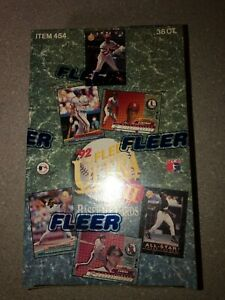 1992 Fleer Ultra Baseball Series 2 Box of 36 Packs