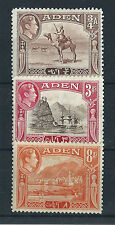 Aden Multiple Stamps