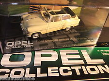 OPEL Olympia Rekord Cabrio 1954/56. OPEL Collection... 1:43 Ixo #676.