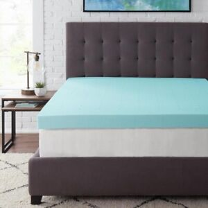StyleWell 4 in. Gel Infused Memory Foam Full Mattress Topper