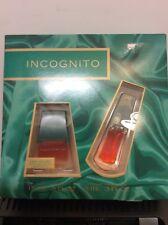 SET Incognito Cologne 15 ml 0.5 fl oz With perfume purse spray 9 ml 0.3 fl oz