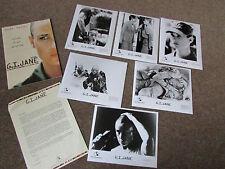 Demi MOORE in G I JANE Original Movie / Film LOBBY Card Set