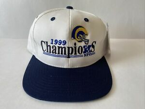 St. Louis Rams 1999 NFC Champions Hat NFL With Tags Twins Enterprise