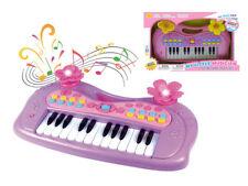 "KIDS PLAY MUSICAL B/O PIANO KEYBOARD 16"" W/LIGHT (COLOR MAY VARY)"