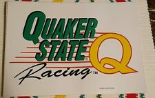 Quaker state racing sticker lot of 5