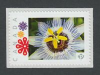 PASSION FLOWER  Picture Postage stamp  MNH Canada 2014 [p8fL3/1]